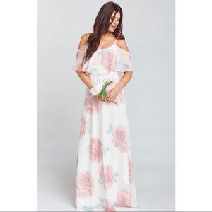 Show me your mumu Caitlin ruffle dress